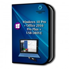copy of Windows 10 Pro + Office 2019 Pro Plus + USB DRIVE