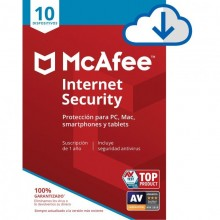 McAfee Internet Security - 10 devices - 1 Year