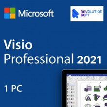 MS Visio Professional 2021 Online activation Key