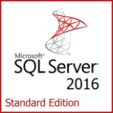 MS SQL Server 2016 Standard - 24 cores - unlimited users - Online Activation Key