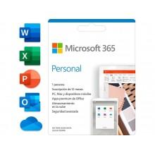 Microsoft 365 Personal 1-PC/MAC + Tablet - 1 year
