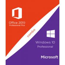 Windows 10 PRO + MS Office 2019 PRO PLUS Online Activation Keys