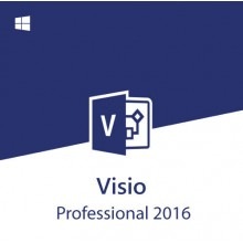 MS Visio Professional 2016 Online Activation Key for 1 PC Original