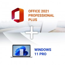 Windows 11 PRO + Office 2021 PRO PLUS Online Activation Keys